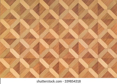 Texture of wood parquet floor