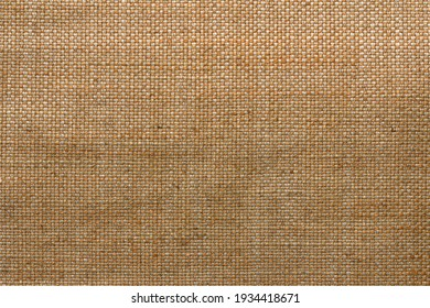 texture of the woven fabric close-up