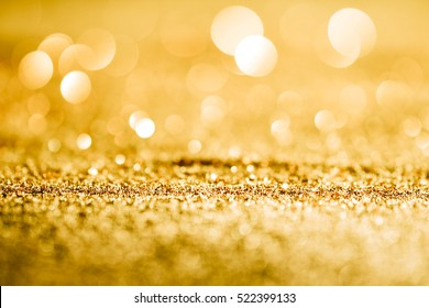Textured abstract background Glitter gold and elegant