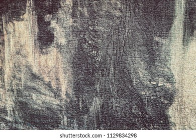 the textured abstract background with an indistinct pattern of brown and beige shades with smudges and with effect of aging