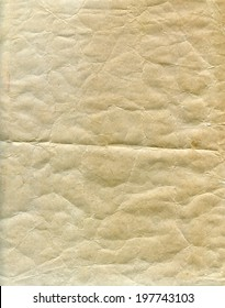Textured aged dirty grainy paper with natural fiber parts