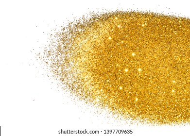 Textured background with golden glitter