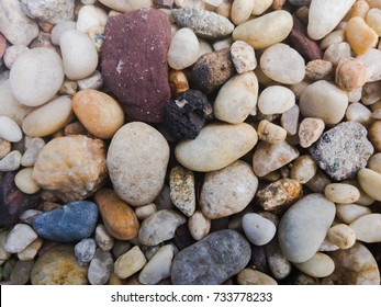textured background spa beach colored pebbles
