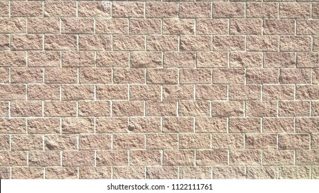 Textured Cinder Block Wall