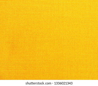 Textured fabric background  of  YELLOW  fabric,