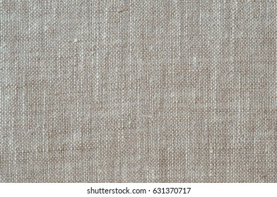 Textured flax fabric as background