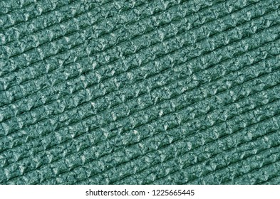 Textured foamed rubber, close up as background