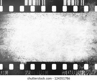 textured grunge black and white abstract background photo frame