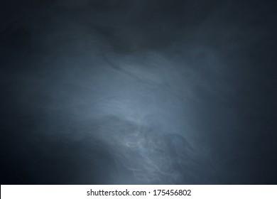 Textured Haze on Black Background