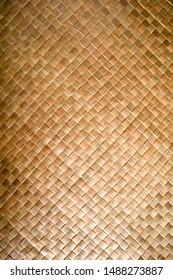 a textured indoor woven mat