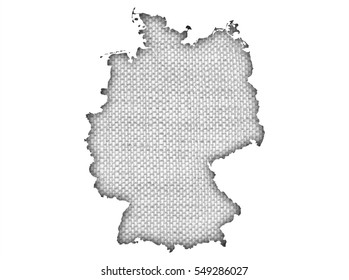 Deutschlandkarte Umriss Stock Photos Images Photography