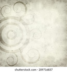 textured old paper background with funky design