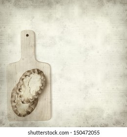 textured old paper background with karelian pasty