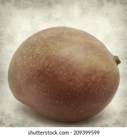 textured old paper background with mango