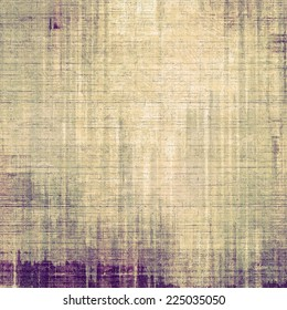Textured old pattern as background. With yellow, violet, gray patterns