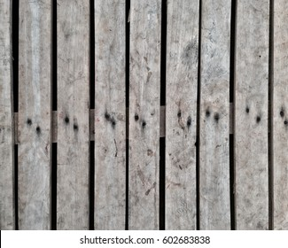 Textured of pallet wood from top view and close up background