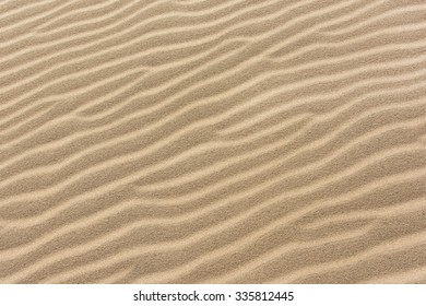 Textured Sand As Background