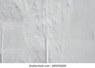 textured uneven tattered worn old white urban street poster background