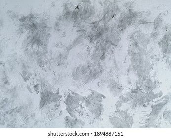 Textured watercolor black and gray on white background. Art black gray background.