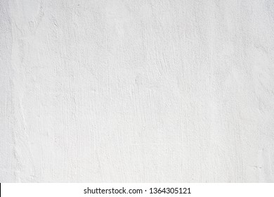 Textured White background. Concrete wall white painted. Construction background. Rough texture