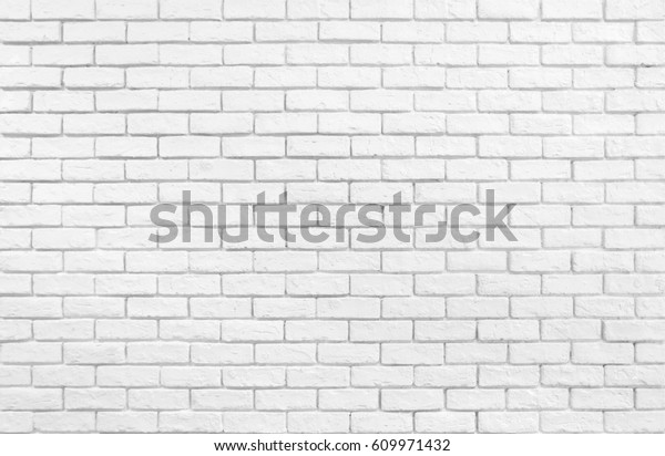 Textured White Brick Wall Wallpaper Stock Photo Edit Now