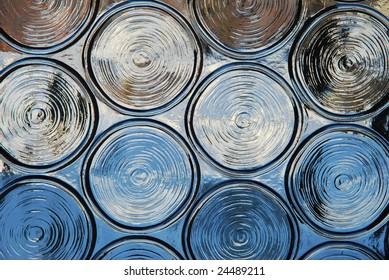 textured window