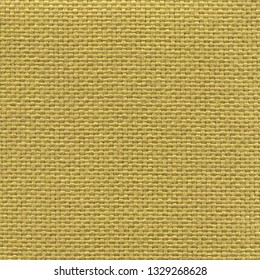 Textured yellow mat textile background. Vintage fashion background for designers and composing collages. Luxury textured genuine fabric of high and natural quality.