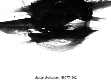 textures black ink