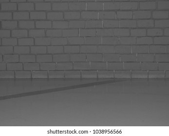Textures, corridors and walls are white brick.