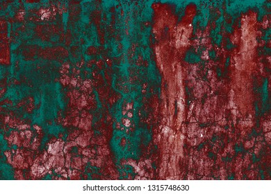 Textures on the brown wall, for background