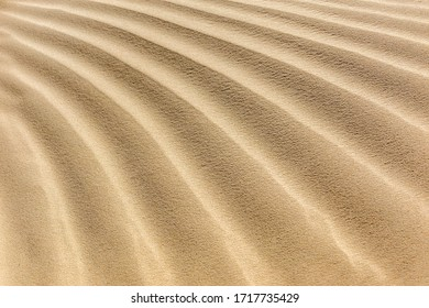 Textures On The Sand Background