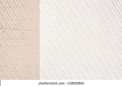 texturized corrugated cardboard surface close up - copy space