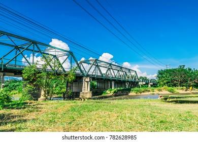 Tha Pai Memorial Bridge Mae Hong Son Province