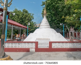Thae Pone Pagoda, the pagoda made of sand in the Maha War Lu Ka Thae Pone Pagoda Festival after the full moon day of Tabaung, Amarapura, Myanmar