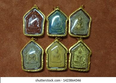 Thai Amulet and Buddha image of thailand