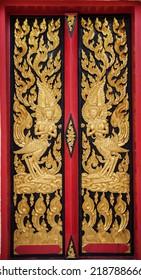 Thai art wall pattern