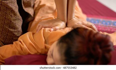 Thai back Massage, Spa Concept