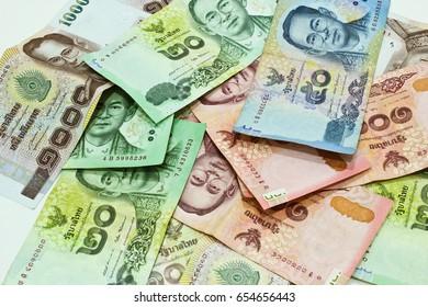 Thai Bank Note Background