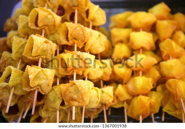 Thai Barbecue Skewers Thai Food Market Food And Drink