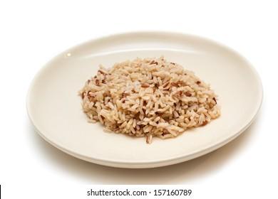 Thai brown rice.