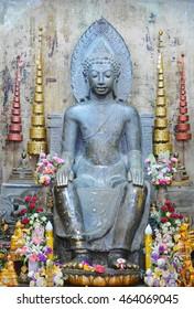 Thai buddha in Ayudhya Thailand