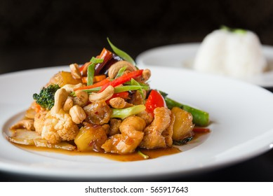 Thai Cashew nuts stir fried