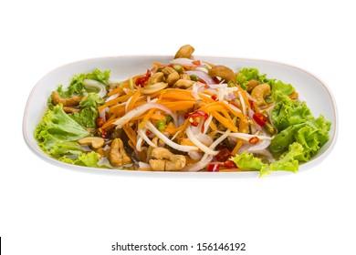Thai Catfish salad