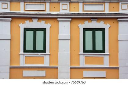 Thai classic windows