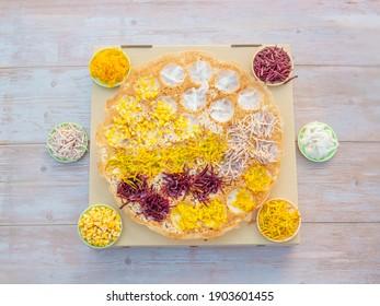 Thai Coconut Rice Pancake (Khanom Krok), Tradition Thai street dessert - Shutterstock ID 1903601455