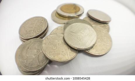 thai coin bath king rama 9