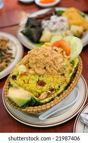 Thai cuisine - pineapple fried rice
