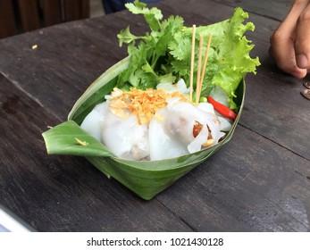 Thai Desserts  Sago Bean