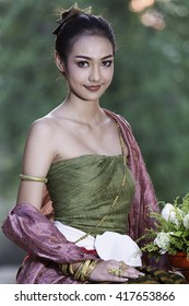 Thai dress woman