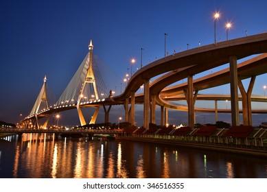 Thai elevated expressway